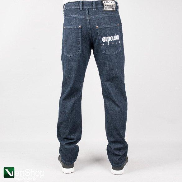 informacje o wersji na Nowy Jork najlepszy wybór EL POLAKO • Spodnie jeans Little Classic (granatowe)