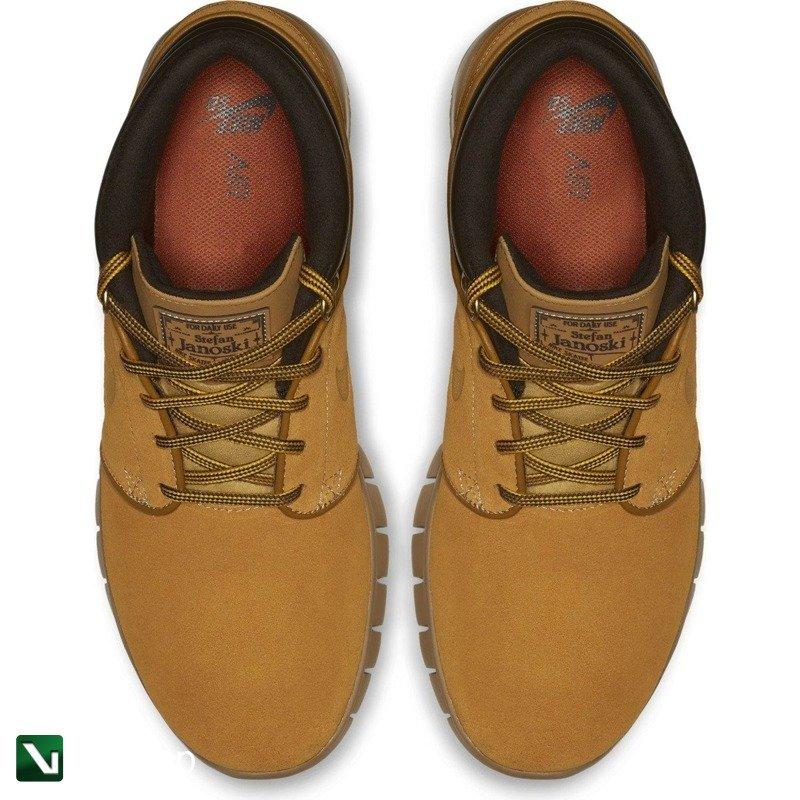 884bddda73 Kliknij, aby powiększyć · Nike Sb Stefan Janoski Max Mid Premium Bronze/ bronze-gum Light Brown