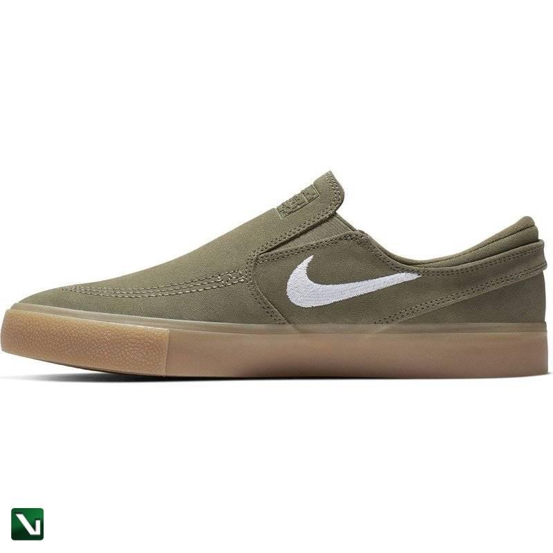 Nike Air Max 1 Premium Prm Suede Olive Canvas Sequoia L