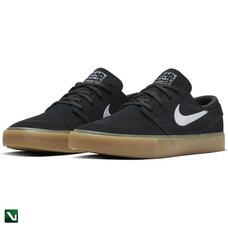 Buty Nike Sb Zoom Stefan Janoski RM Blackwhite black gum Light Brown