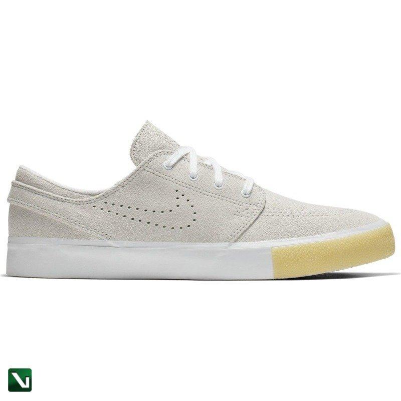Buty Nike Sb Zoom Stefan Janoski RM SE Whitewhite vast Grey gum Yellow