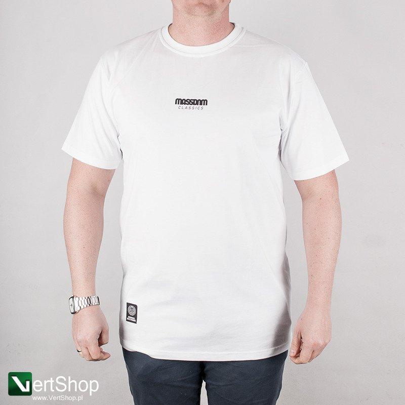 0a3f3c804f73ed Vertshop.pl • MASS DNM • Koszulka Classics Small Logo (biała)