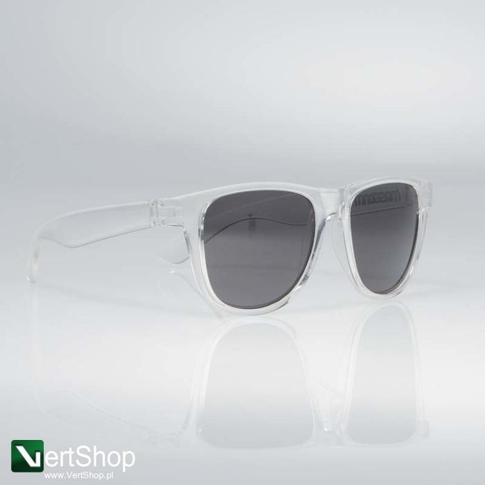 MASS DNM • Okulary przeciwsłoneczne John (transparent)
