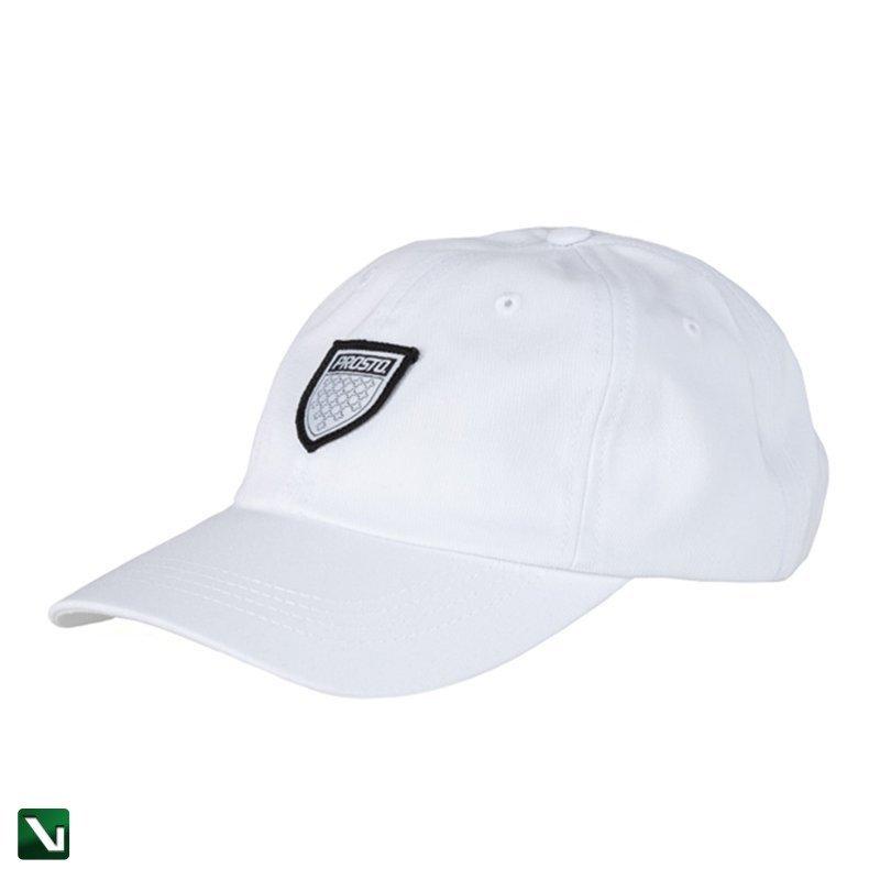 PROSTO • Czapka 6PANEL SHIELD WHITE (biała)