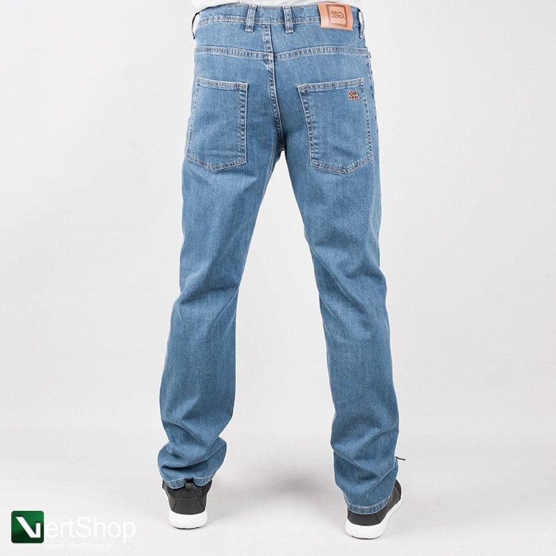 7915902724 Vertshop.pl • SMOKESTORY • Spodnie Classic (niebieski)slim