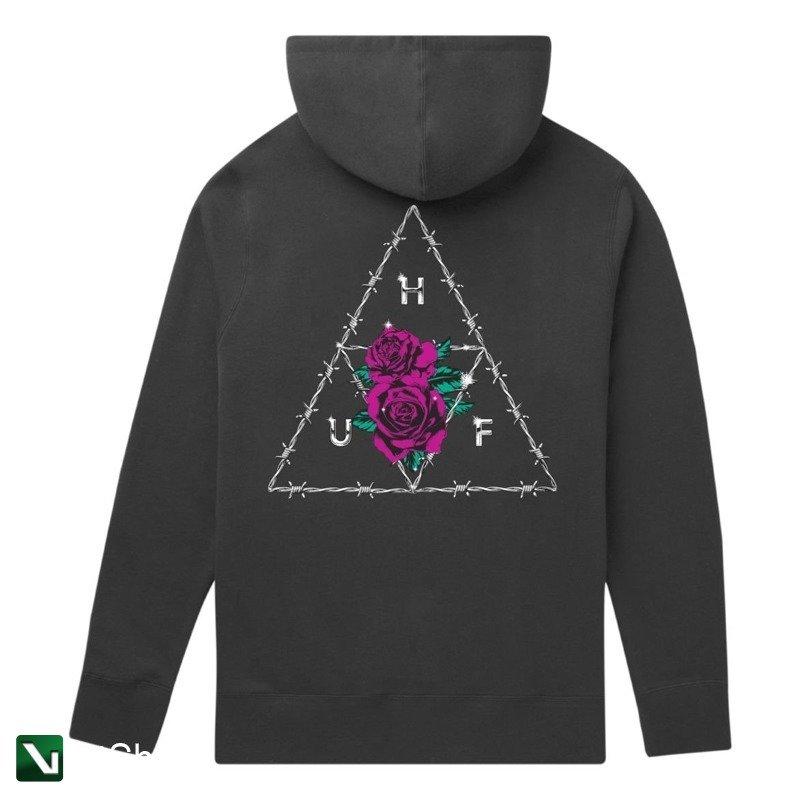 najniższa zniżka wyprzedaż w sprzedaży najlepsze oferty na bluza huf dystopia pullover hoodie black