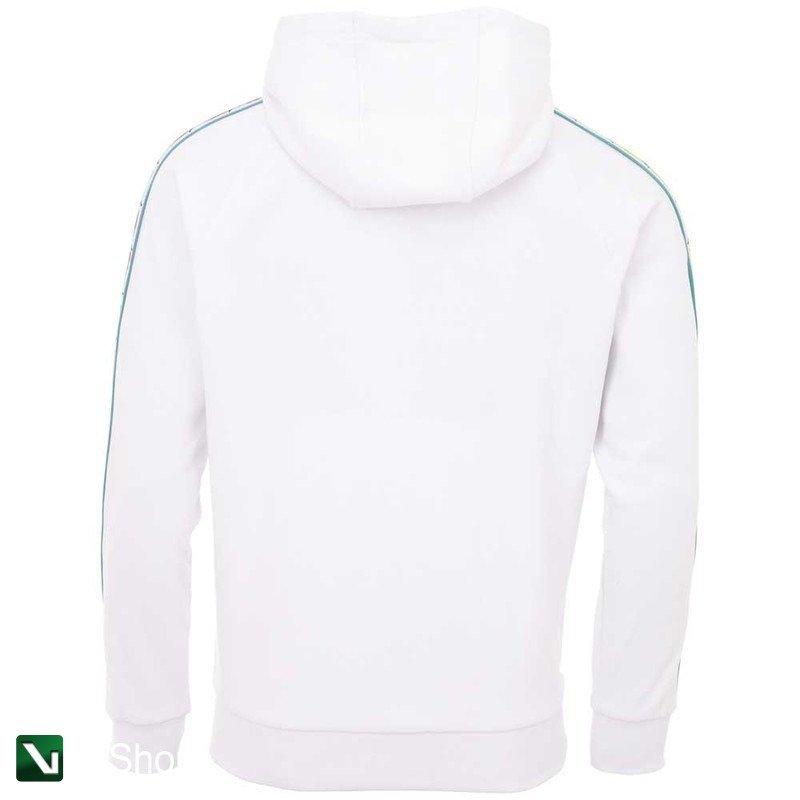 kod promocyjny sklep internetowy niska cena sprzedaży bluza kappa flavio hooded sweatshirt bright white