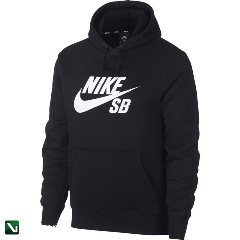 bluza nike sb icon hoodie po essential blackwhite