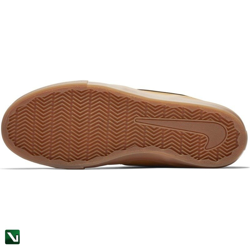 Buty Nike SB Portmore II Solarsoft Cnvs (blackblack) | feet