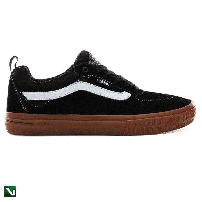 buty vans black gum