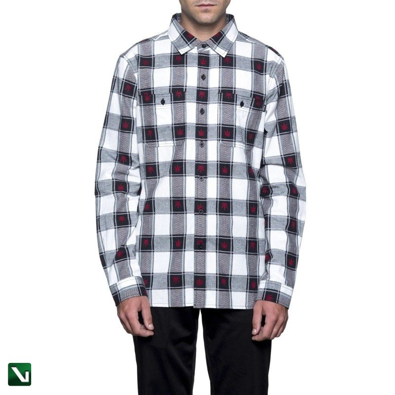 6bd1f517a3140 Vertshop.pl • koszula huf hemd plantlife plaid black