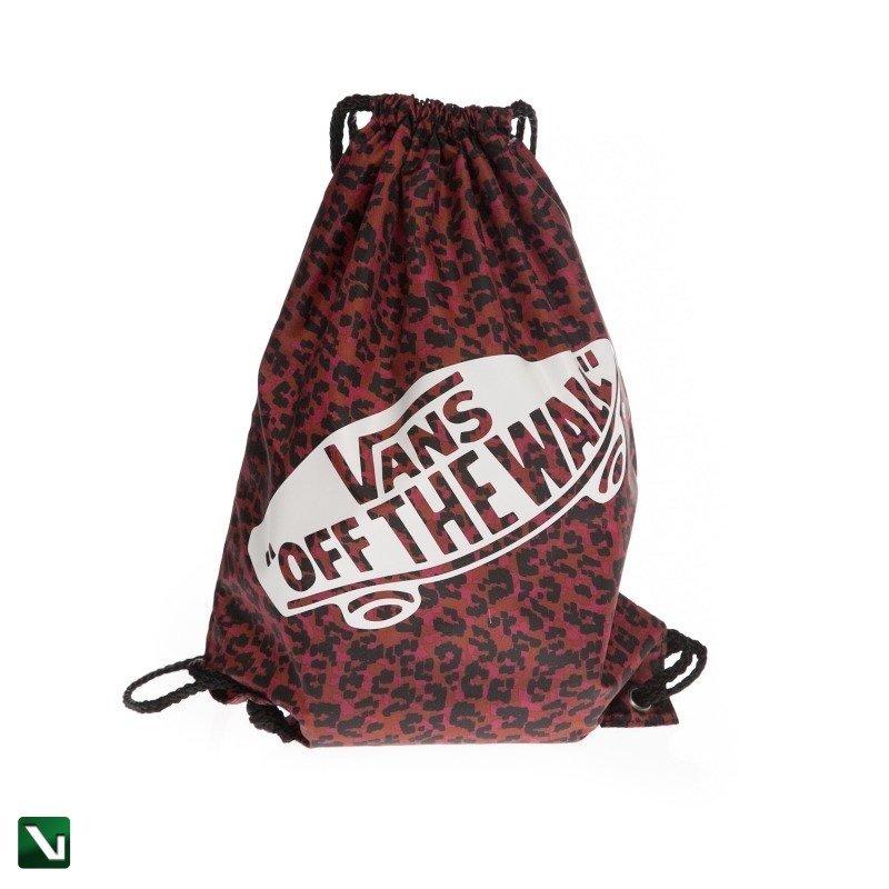 worek vans benched bag wild leopard