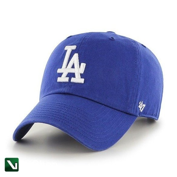 47 BRAND • Czapka LA Dodgers Clean Up (royal)