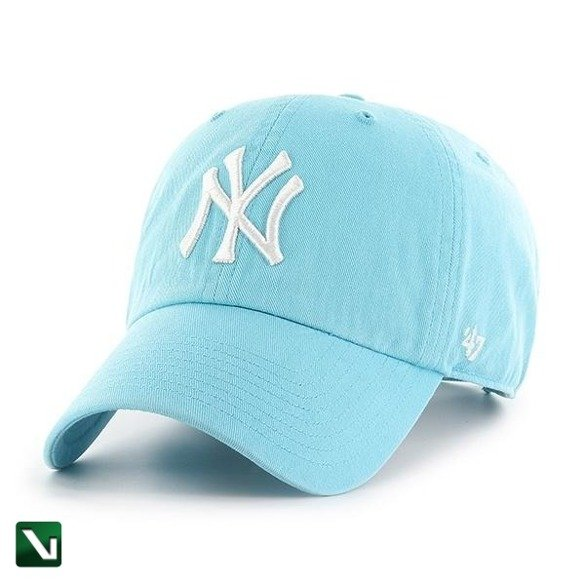 47 BRAND • Czapka NY Yankees Clean Up (błękit)