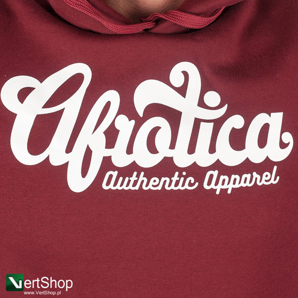 AFROTICA WEAR • Bluza z kapturem Grand (bordowa)
