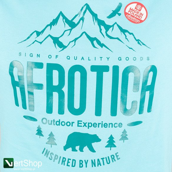 AFROTICA WEAR • Koszulka Mountain (turkusowa)