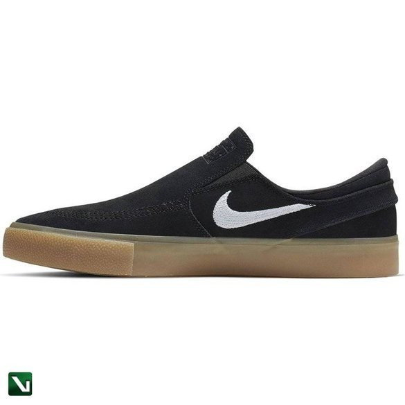 Buty Janoski Slip Rm Canvas Black/white-black-gum Light Brown