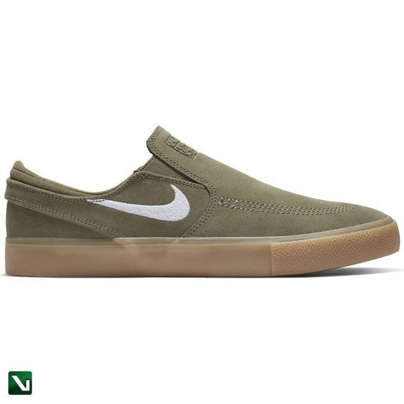 Buty Janoski Slip Rm Canvas Medium Olive/white-medium Olive