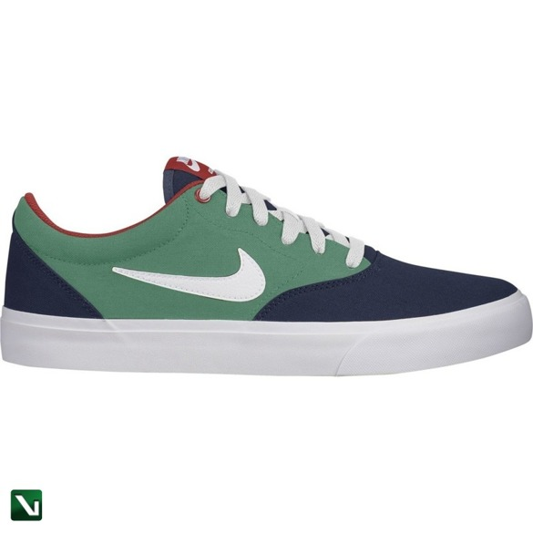 Buty Nike Sb Charge Solarsoft Textile Midnight Navy/white-lucid Green