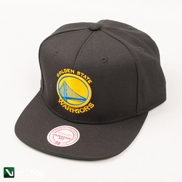 MITCHELL & NESS • Snapback Golden State Warriors (czarna)