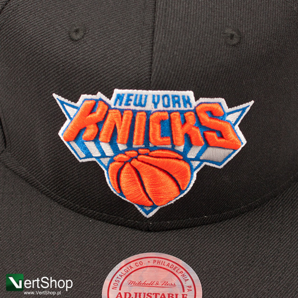 MITCHELL & NESS • Snapback New York Knicks (czarna)