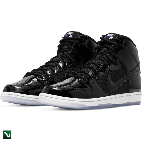 Nike SB Dunk High Black/black-white-varsity Royal