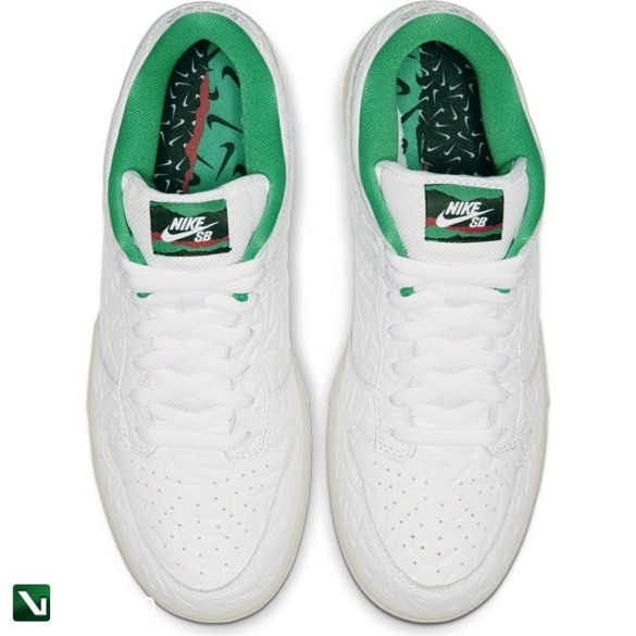 Nike SB Dunk Low OG 2 WHITE/WHITE-LUCID GREEN-SAIL
