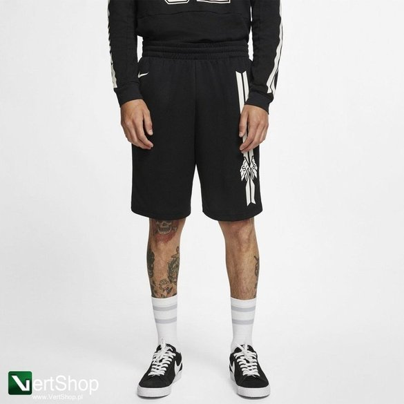 Nike Sb DRY SUNDAY SHORT GFX BLACK/SUMMIT WHITE