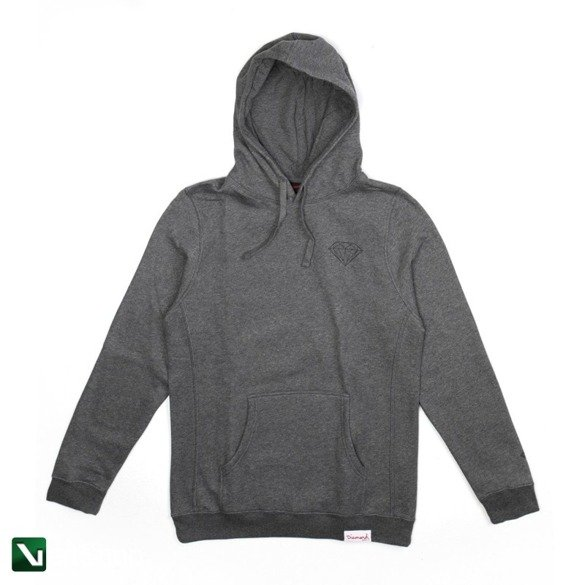 bluza diamond brilliant hoodie gunmetal heather