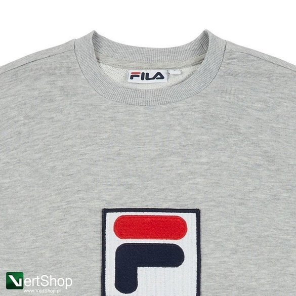 bluza fila rian crew sweat grey
