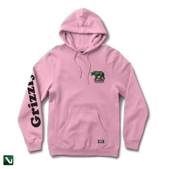 bluza grizzly fontaine hoodie pink