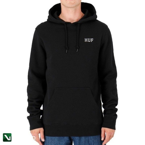 bluza huf dystopia hoodie classic H black
