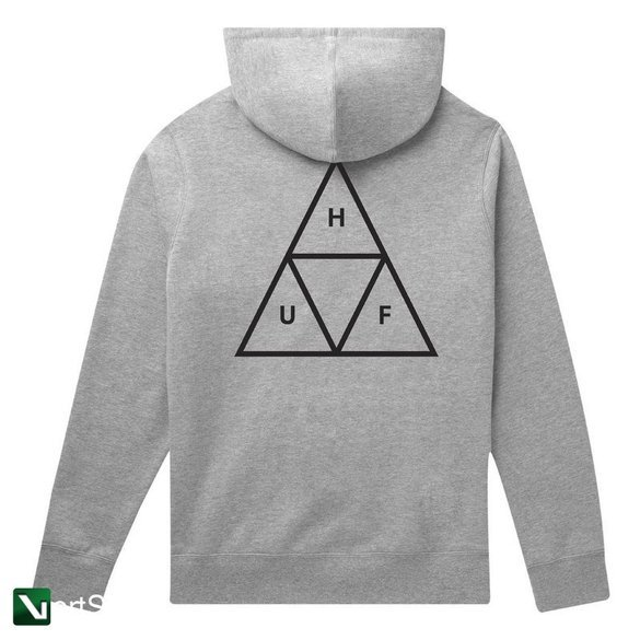 bluza huf hoodie essentials triple triangle