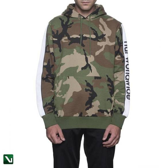 bluza huf pullover hoodie - woodland