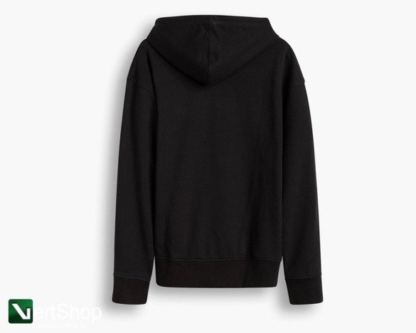 bluza levi's Relaxed Graphic Hoodie black