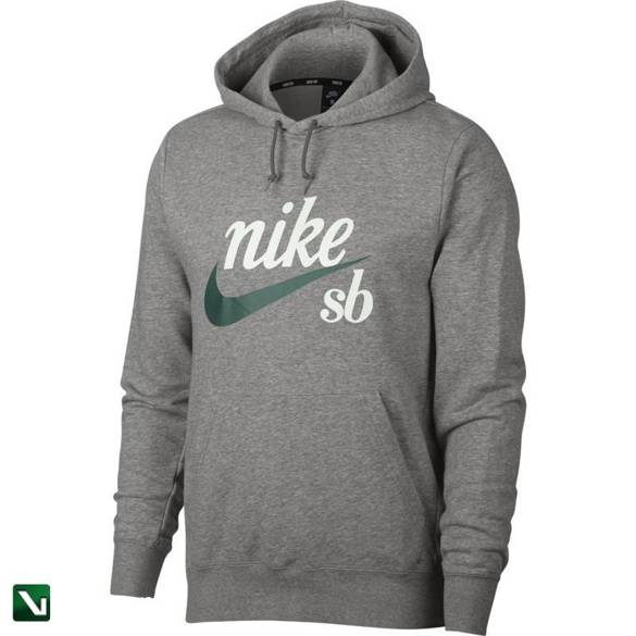 bluza nike sb icon Hoodie Dk Grey Heather/summit White/bicoastal