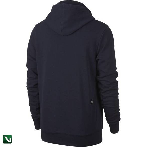 bluza nike sb icon Hoodie Obsidian/summit White/team Red