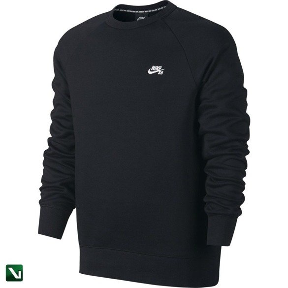 bluza  nike sb icon top black/white