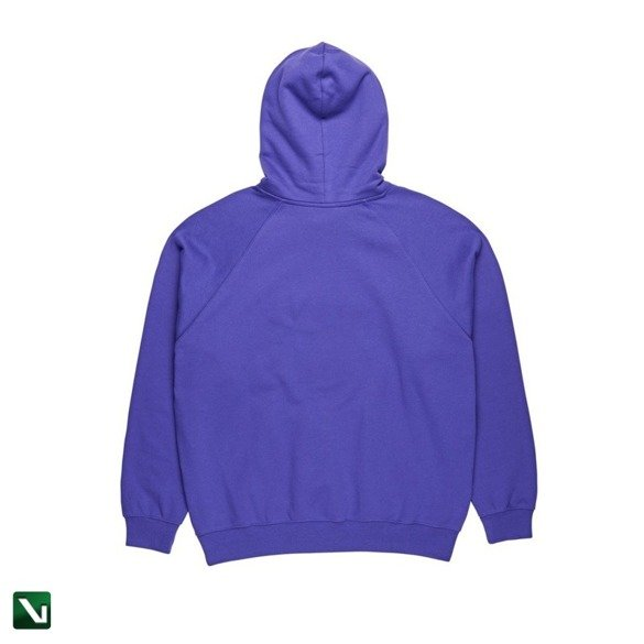 bluza polar default hoodie deep purple