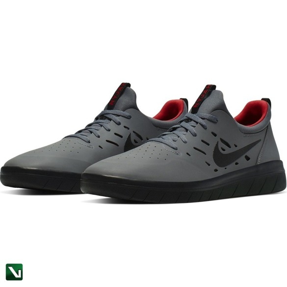 buty Nike Sb Nyjah Free  Dark Grey/black-gym Red