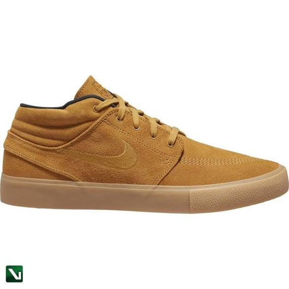 buty Nike Sb Zoom Janoski Mid Rm Wheat/wheat-black-gum Light Brown