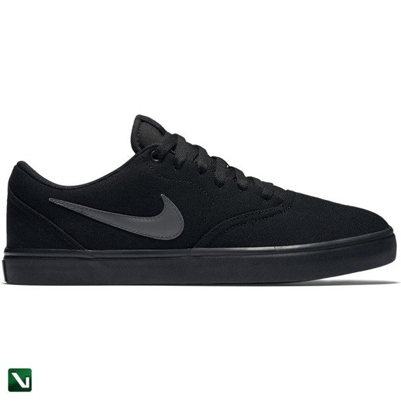 buty nike sb check solarsoft canvas Black/anthracite