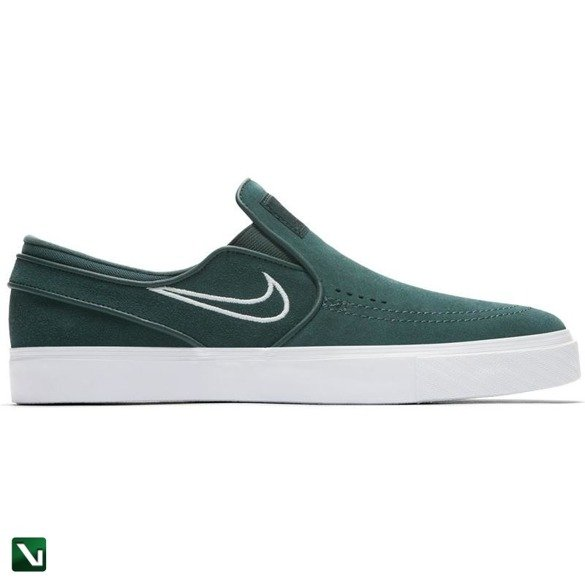 buty nike sb stefan janoski slip deep jungle/barely grey-white