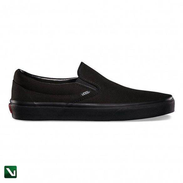 buty vans classic slip-on black/black