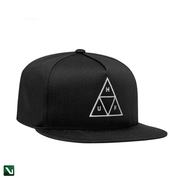 czapka huf TRIPLE TRIANGLE SNAPBACK HAT black