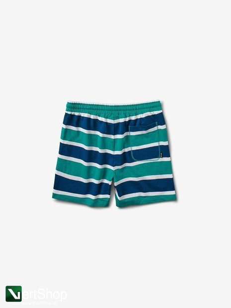 diamond MINI OG SCRIPT STRIPED SHORTS