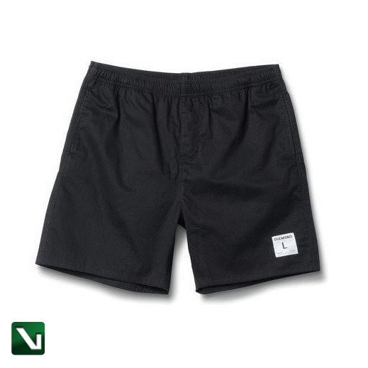 dugout shorts in black