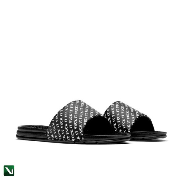 klapki huf fuck it slides black