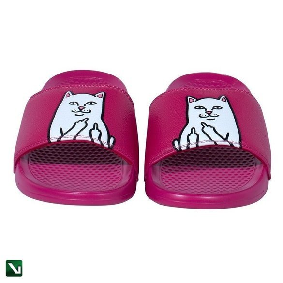 klapki ripndip Lord Nermal Slides (Wine)