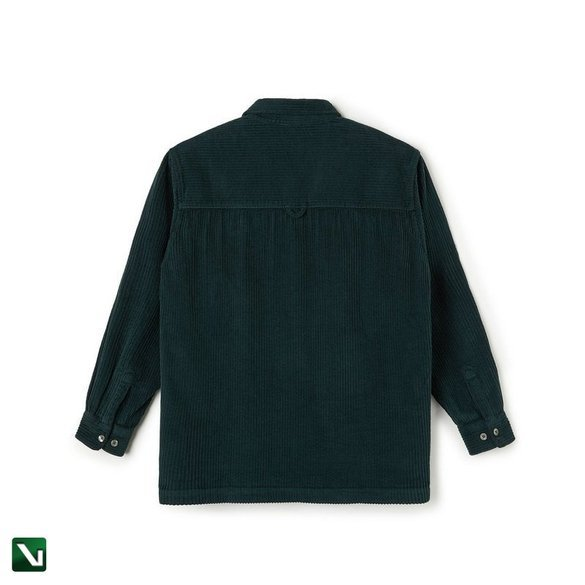 koszula polar Cord Shirt - Dark Green